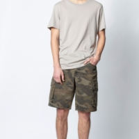Khaki Pinji Camo Shorts