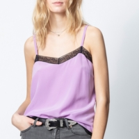 Lavender Lace Camisole