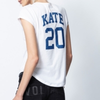 White Kate Henley T-Shirt