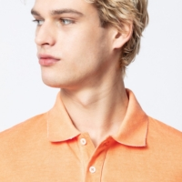 Orange Trot Polo Shirt