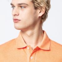 Orange Trot Polo Shirt