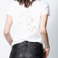 White Story Fishnet MANDALA T-Shirt
