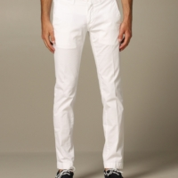 White Bobby Comfort Pants