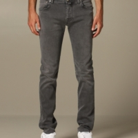 Grey Comfort Denim
