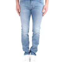 Light Blue Comfort Denim Trousers