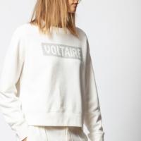 Creme Hany Crystal Sweatshirt