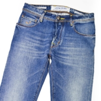 Blue Comfort Stretch Slim Jeans