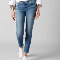 Blue Pyper Cropped Luxe Vintage Pacific Grove Wash Jeans