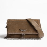 Brown Rocky Suede Bag