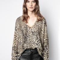 Leopard Leo Cashmere Knit Jumper