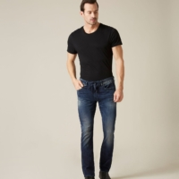Ronnie J Untamed Blue Denim Pants