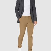 Camel GMT Dye Texture Chino Pants