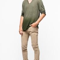 Green Dip Dye Monastir T-Shirt