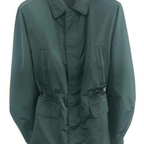 Dark Green Field Waterproof Coat