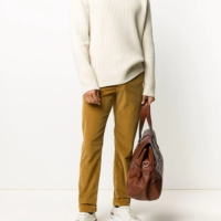 Camel Corduroy Comfort Pants