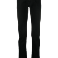 Black Slim Fit Denim Pants
