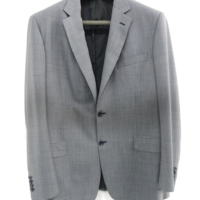 Grey Toscana Textured Blazer