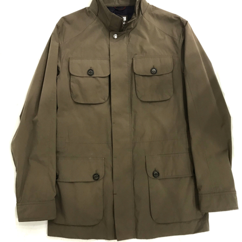 Brown Waterproof Field Jacket