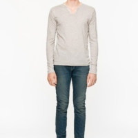 Light Grey Monastir Mer L/S T-Shirt