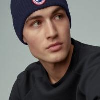 Blue Artic Disc Togue Beanie Hat