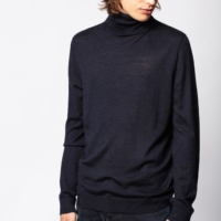 Navy Bobby Sweater