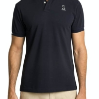 Navy Number Polo Shirt
