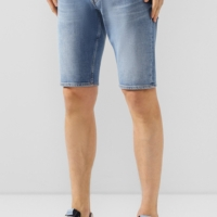 Light Blue Regular Shorts Hemet