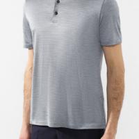 Sky Blue Check Polo Shirt