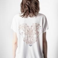 White VI New Fishnet T-Shirt