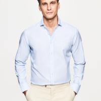 Sky Blue Weave Shirt