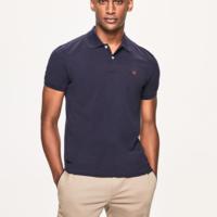 Navy Slim Fit Logo T-Shirt