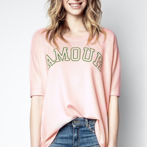 Pink Portland Amour Sweatshirt