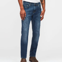 Slimmy NY Mid Used Wash Denim Jeans
