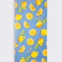 Sun Lemon Print Towel