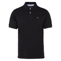 Black Slim Fit Logo Polo Shirt