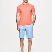 Light Blue Sanderson Chino Shorts