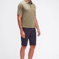Navy Slimmy Chino Shorts Weightless