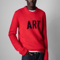 Red Kennedy Sweater